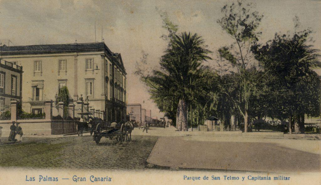 La imagen tiene un atributo ALT vacío; su nombre de archivo es Fo002904.-SAN-TELMO-Y-CAPITANIA.-1895-1900.-LUIS-OJEDA-PEREZ.-COLECC.-JACRUZ-1-1024x592.jpg